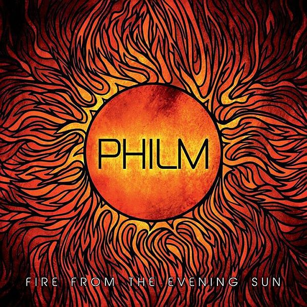 Cover PHILM, fire from the evening sun