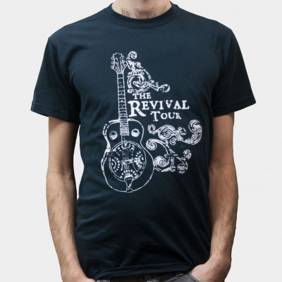 Cover REVIVAL TOUR, sologuitar (boy) black