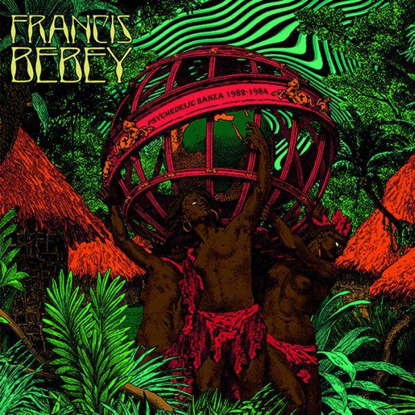 FRANCIS BEBEY, psychedelic sanza 1982-1984 cover