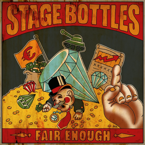 Cover STAGE BOTTLES, fair enough