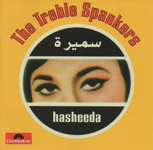 TREBLE SPANKERS, hasheeda cover