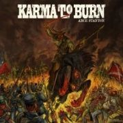 Cover KARMA TO BURN, arch stanton