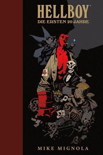 HELLBOY, die ersten 20 Jahre - artbook cover