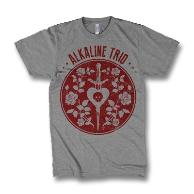 Cover ALKALINE TRIO, emblem (boy) heather gray