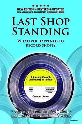 Cover GRAHAM JONES, last shop standing