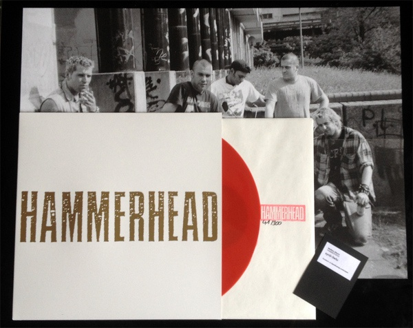 Cover HAMMERHEAD, weisses album
