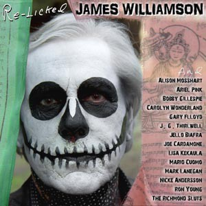 Cover JAMES WILLIAMSON, re-licked