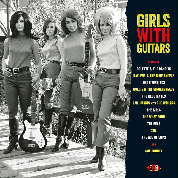 V/A, girls with guitars cover