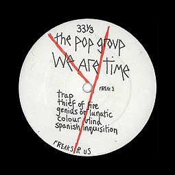 Cover POP GROUP, we are time