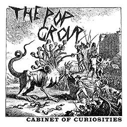 Cover POP GROUP, cabinet of curiosities