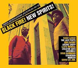 Cover V/A, black fire! new spirits!