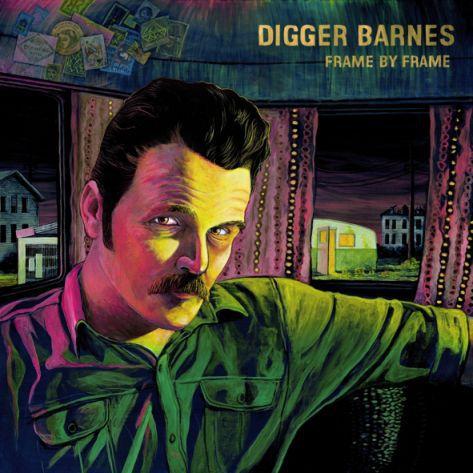 DIGGER BARNES, frame by frame cover