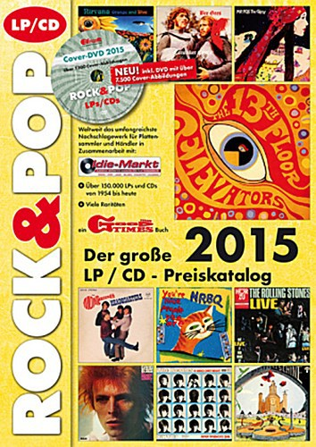 MARTIN REICHOLD, der große rock & pop lp / cd preiskatalog 2015 cover