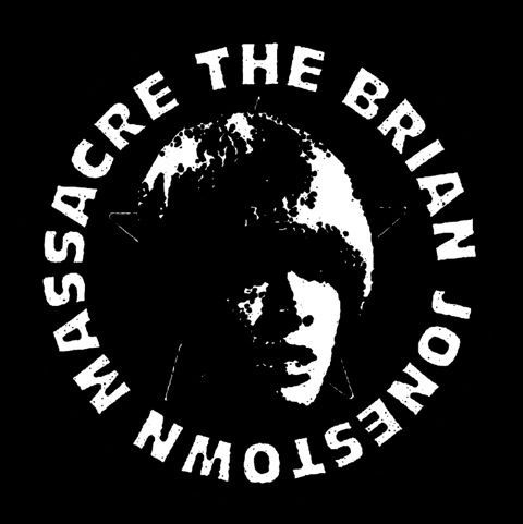 Cover BRIAN JONESTOWN MASSACRE, + - ep