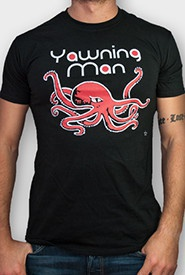 Cover YAWNING MAN, rocktopus (boy) black