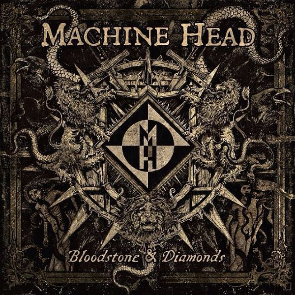 Cover MACHINE HEAD, bloodstone & diamonds