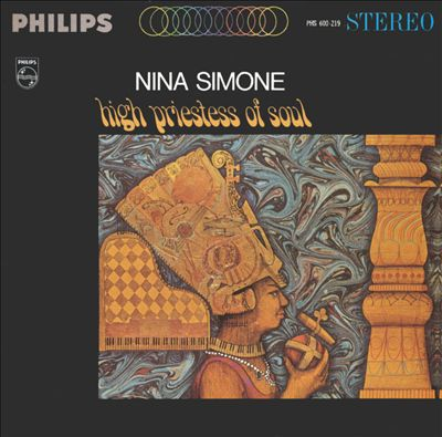 NINA SIMONE, high priestess of soul cover