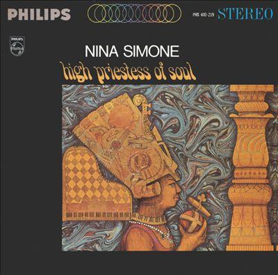 NINA SIMONE, high priestess of soul cover