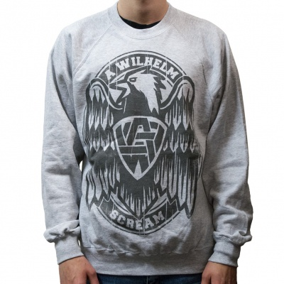 Cover A WILHELM SCREAM, eagle (sweatshirt) sports gray
