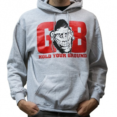 GORILLA BISCUITS, hold your ground (hoody) sports gray cover