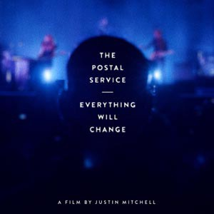 POSTAL SERVICE, everything will change cover