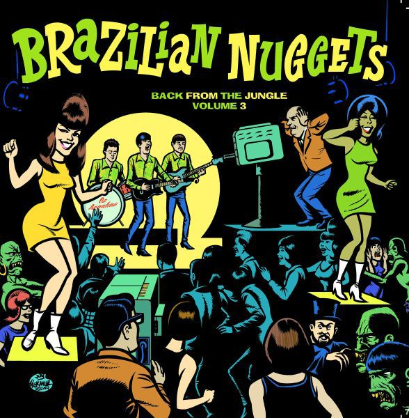 Cover V/A, brazilian nuggets - back from the jungle 3