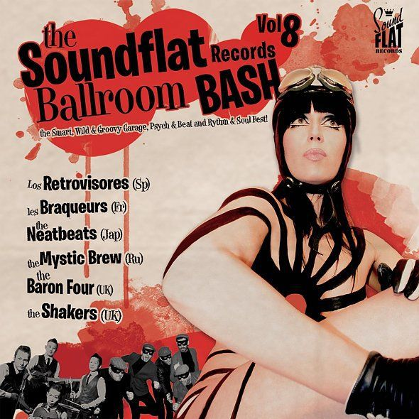 Cover V/A, soundflat records ballroom bash! vol. 8
