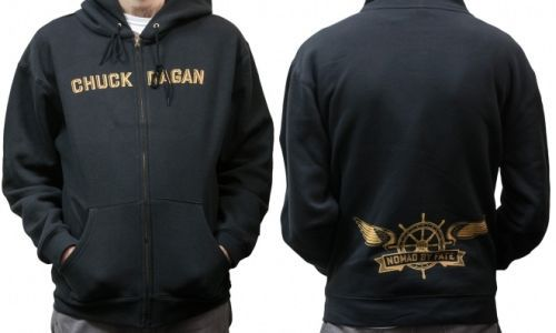 Cover CHUCK RAGAN, nomad by fate (zip hoodie) black