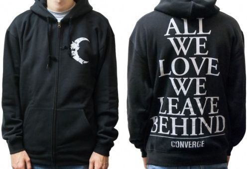 Cover CONVERGE, half moon (zip hoodie) black