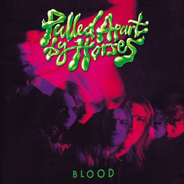 Cover PULLED APART BY HORSES, blood