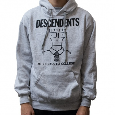 Cover DESCENDENTS, milo goes to college (hoodie) sports grey