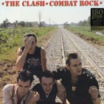 CLASH, combat rock cover