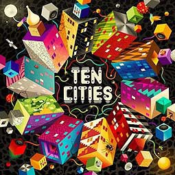 Cover V/A, ten cities