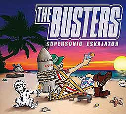 BUSTERS, supersonic eskalator cover