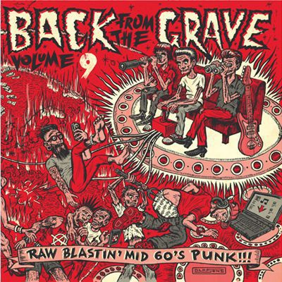 Cover V/A, back from the grave vol. 9