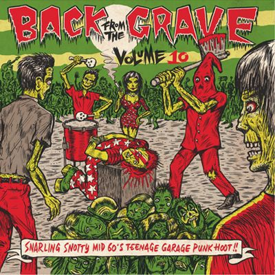 Cover V/A, back from the grave vol. 10