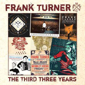 FRANK TURNER, the third three years cover