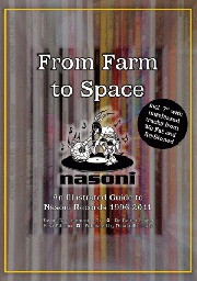 Cover NASONI 15 YEARS BOOK, from farm to space