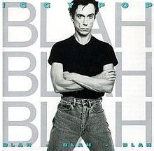 IGGY POP, blah-blah-blah cover