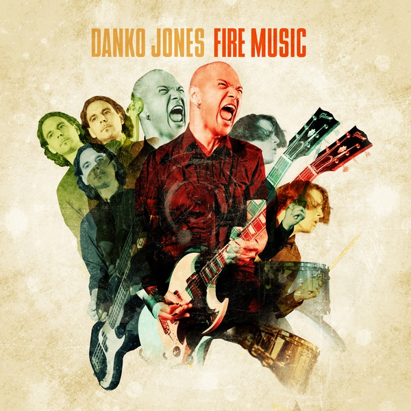Cover DANKO JONES, fire music