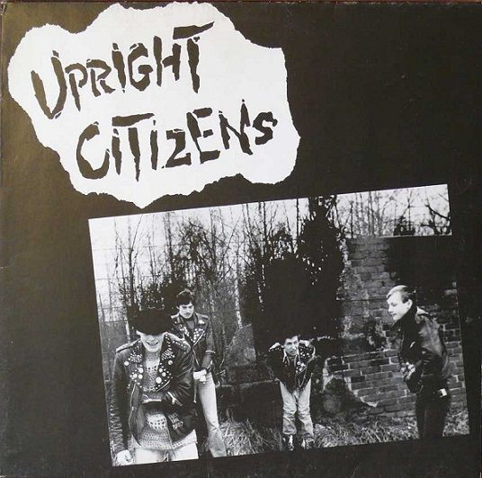 Cover UPRIGHT CITIZENS, bombs of peace