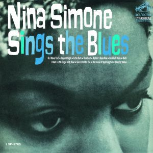 NINA SIMONE, sings the blues cover