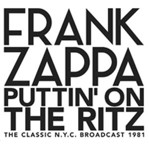 Cover FRANK ZAPPA, putting on the ritz