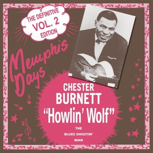 Cover HOWLIN´ WOLF, memphis days vol. 2