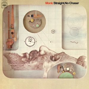 Cover THELONIOUS MONK, straight no chaser