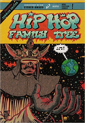 Cover ED PISKOR, hip hop family tree 1975-1983 gift box set