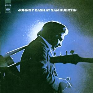 JOHNNY CASH, at san quentin cover