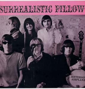 Cover JEFFERSON AIRPLANE, surrealistic pillow