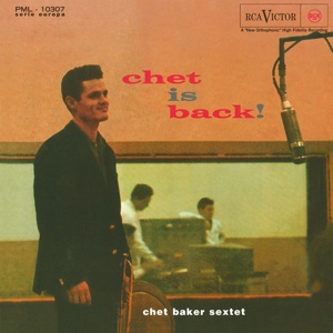 CHET BAKER, chet is back! cover