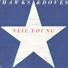 NEIL YOUNG, hawks & doves cover